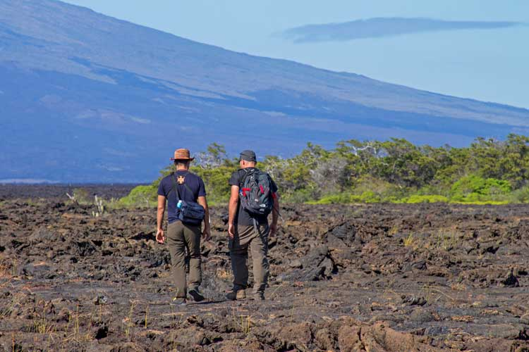 Hiking in the Galapagos