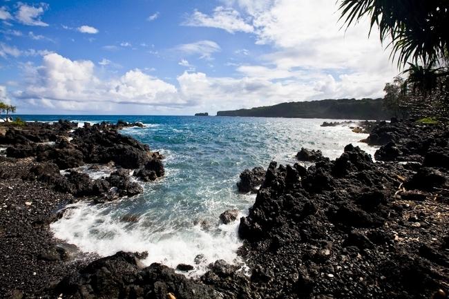 Scenic Overlook Along the Hana Highway, Maui Hawaii. Photo by Maui CVB