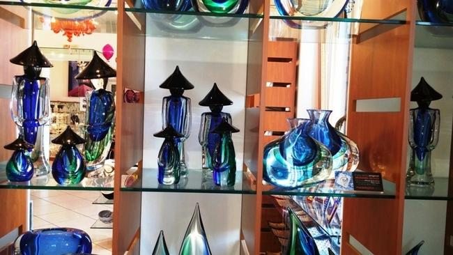 WORLD FAMOUS MURANO GLASS. PHOTO BY FYLLIS HOCKMAN
