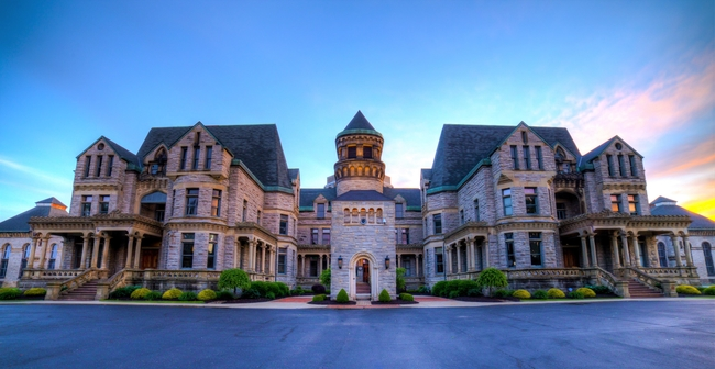 The Ohio State Reformatory aka Shawshank State Prison. Photo from Destination Mansfield/Richland county