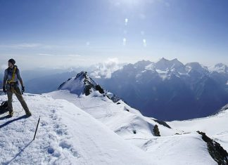 Bishorn is one of the best Alps for beginners to climb