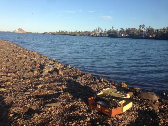 fishing- mulege river-baja california sur- mexico- canada- road trip- solo traveler