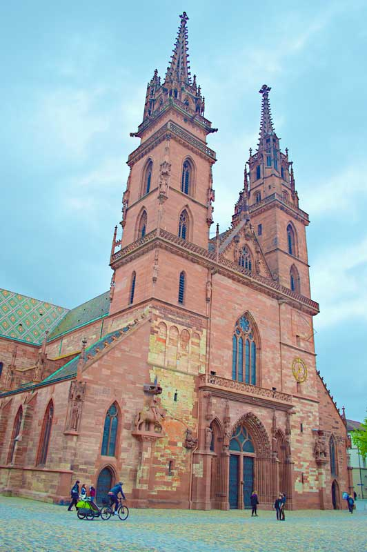 The Basel Cathedral