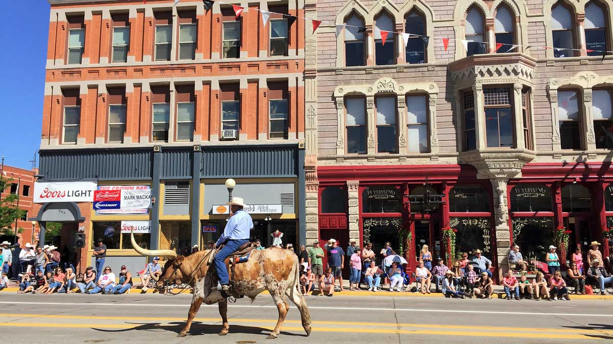 Cheyenne Frontier Days is a 10-day festival and rodeo celebrating the American West