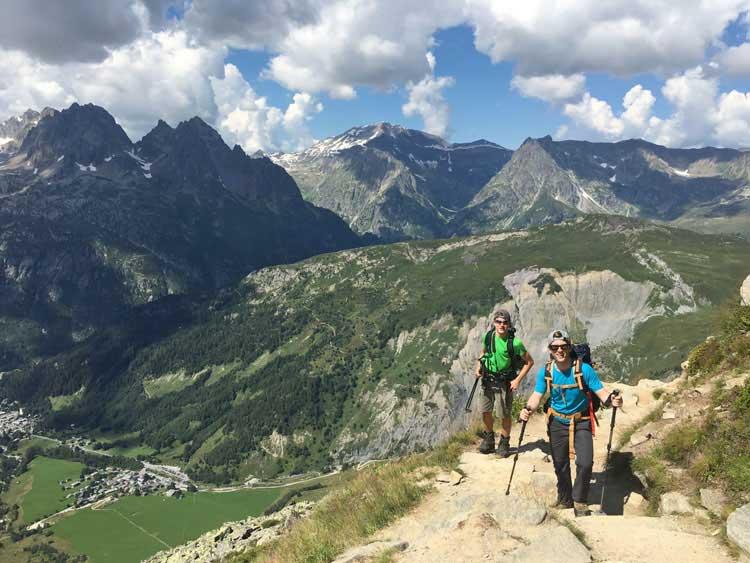 L'Aiguille du Tour offre aux alpinistes novices la possibilité de vivre une expérience alpine de haute qualité.  Photo de Julia Virat