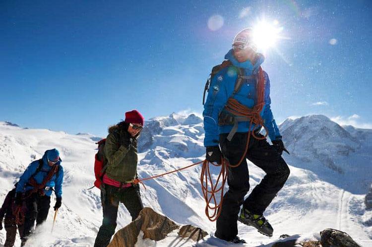 Breithorn est une ascension de 4000 mètres en Suisse