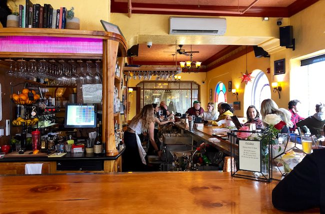 Rendezvous bar and coffee shop. Photo by Claudia Carbone