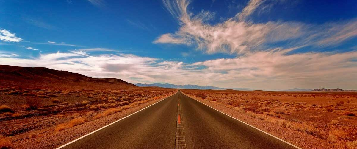 Driving on the on the Extraterrestrial Highway