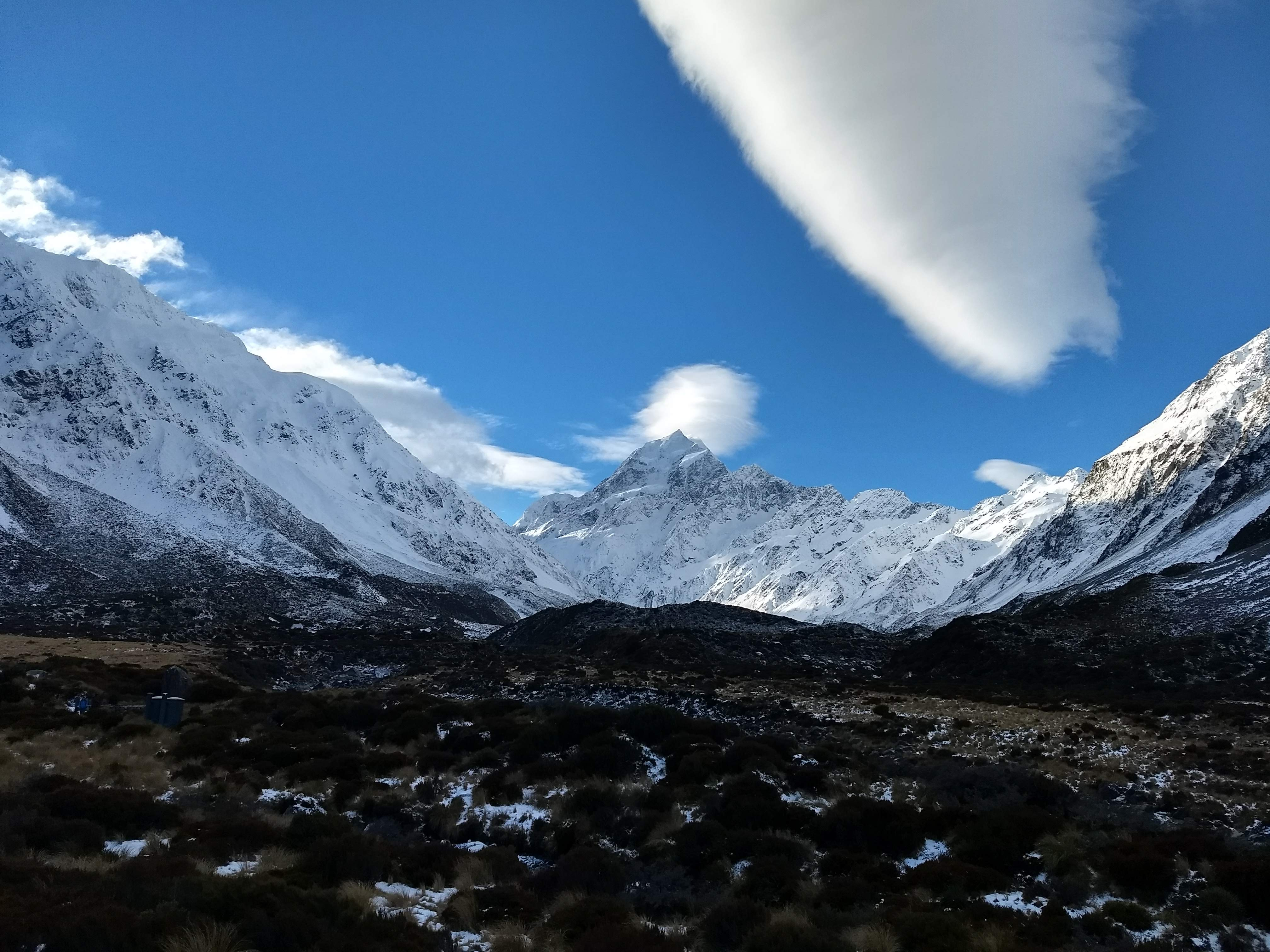 Beautiful Mt. Cook. Photo by Jill Chafin.