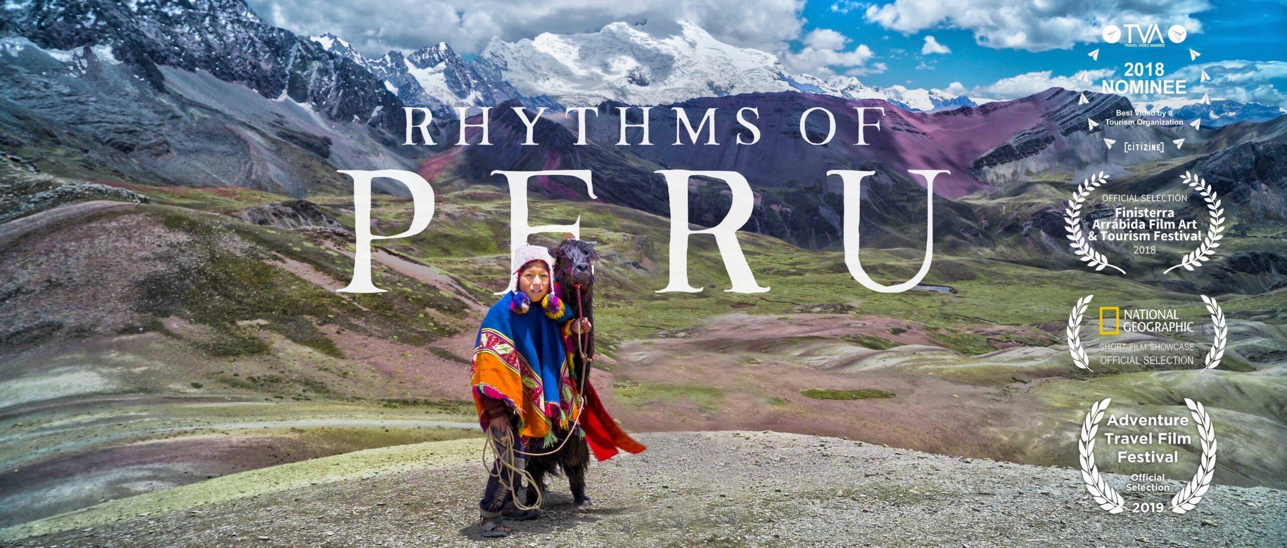 RHYTHMS OF PERU - cover