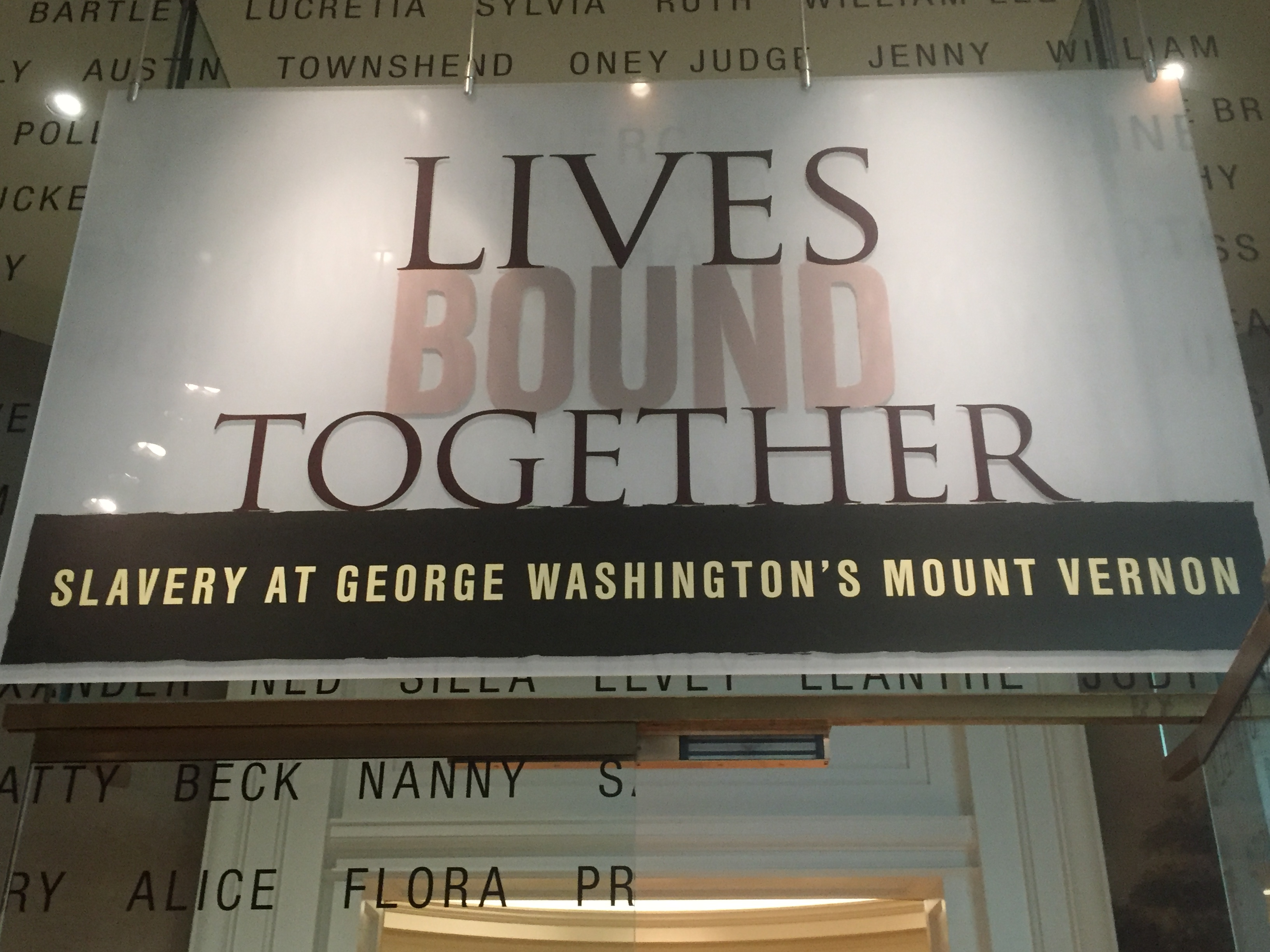 One of the most courageous of the new exhibits at Mount Vernon takes a frank and often shocking look at George Washington and his relationship with the 315 enslaved people he and Martha owned.