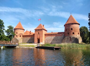 Trakai Island Castle. Photo by Eric Goodman