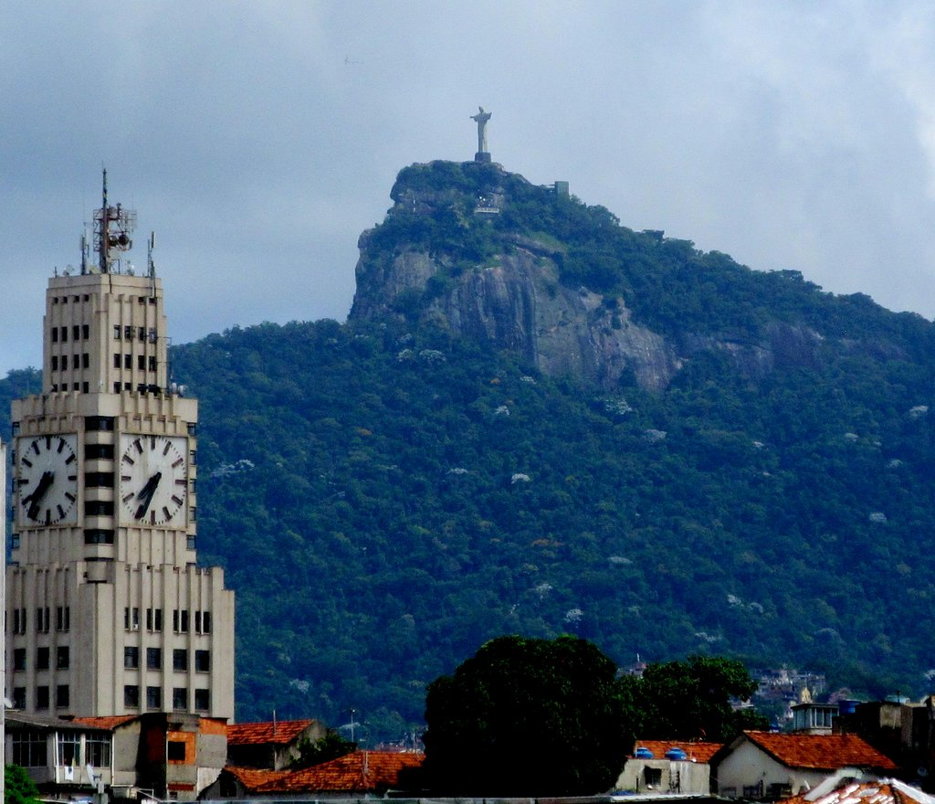 Our journey began in Rio de Janeiro, where I felt the protection of Christ the Redeemer statue, imparting a sense of forgiveness on the city. Photo by Carol L. Bowman