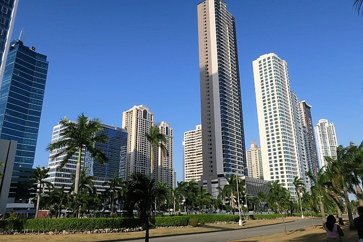 Panama City's Skyline is a Welcome Surprise. Photo by Victor Block
