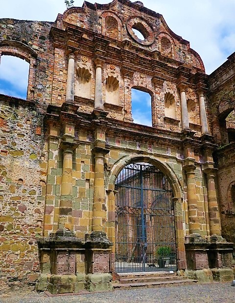 Hints of Past Grandeur in Panama Viejo. Photo by Victor Block