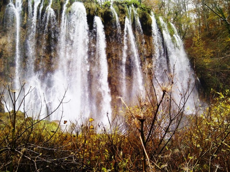Plitvice Falls, One of Many Stunning Scenic Sights in the Balkans. Photo by Fyllis Hockman