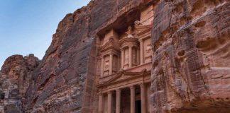 We visited Petra in Jordan