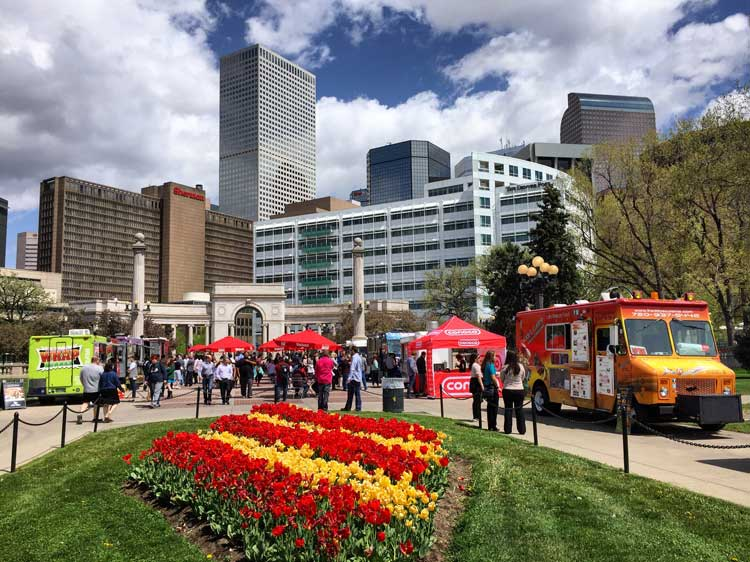 Denver Food Trucks. Photo by Rich Grant.