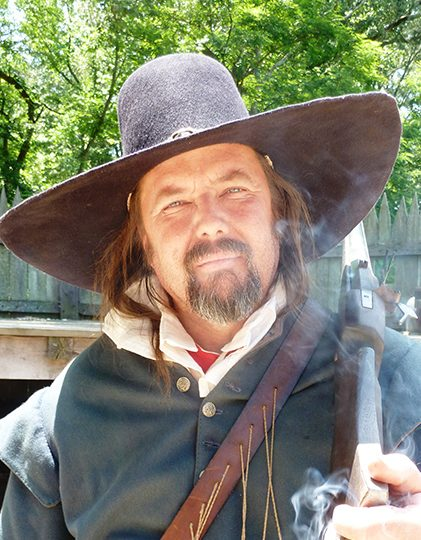 Jamestown Settlement has a recreated forts and interpreters who demostrates musket or cannon firings.