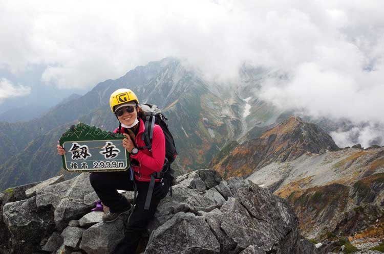 The Japanese Alps draw hikers from around the world