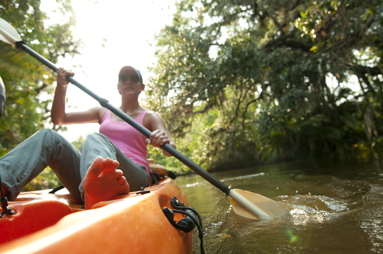 """Kayaking at J.N. """"Ding"""" Darling National Wildlife Refuge"""