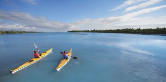 Kayaking near Sanibel Island