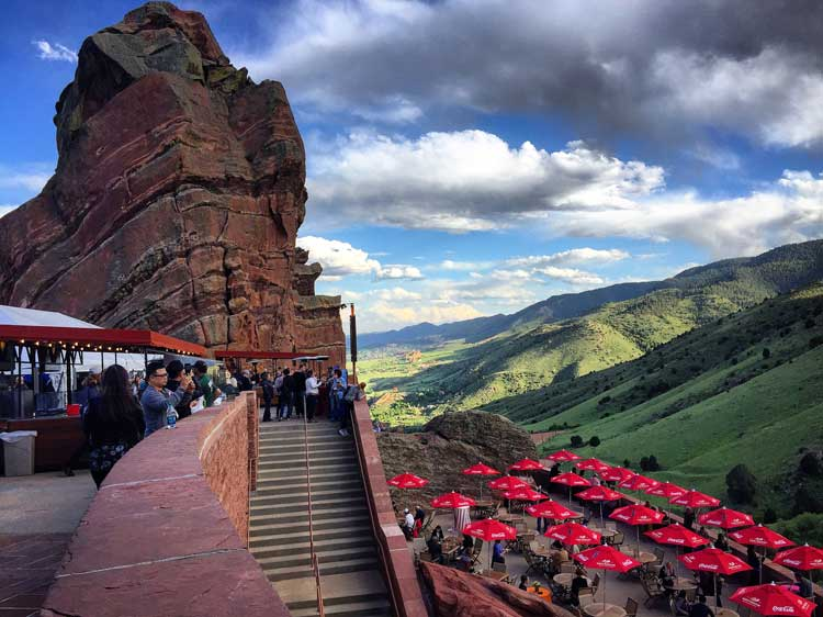 Red Rocks Amphitheatre. Photo by Rich Grant.