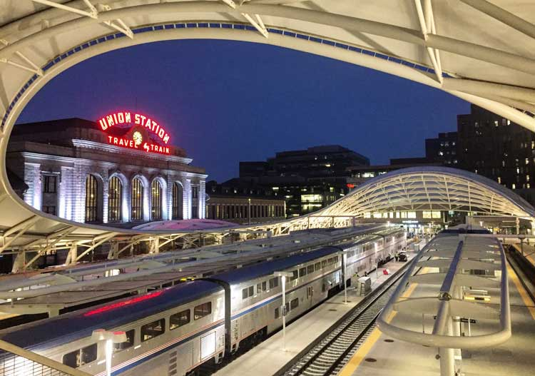 Union Station Denver, Colorado. Photo by Rich Grant.