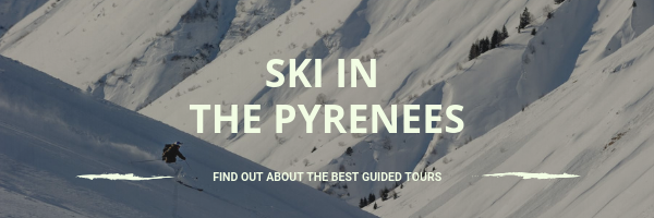 Go skiing in the Pyranees