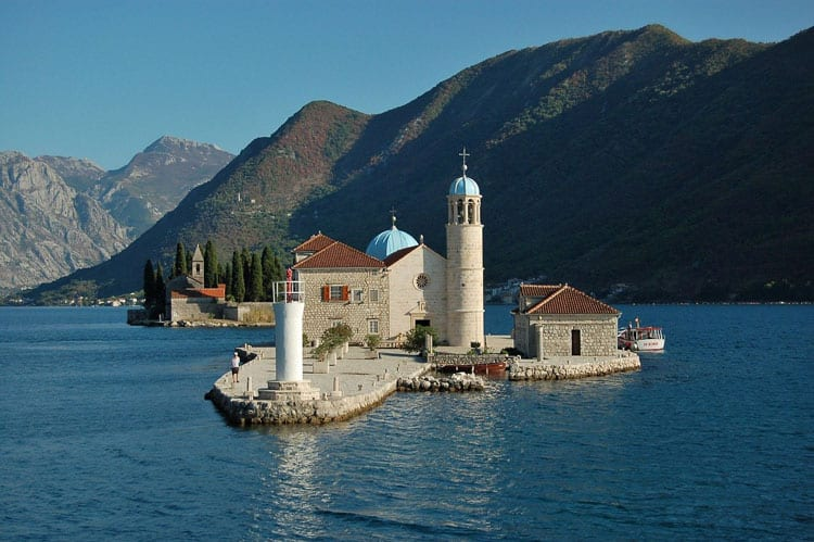 Our Lady of the Rocks is one of Montenegro's top attractions.