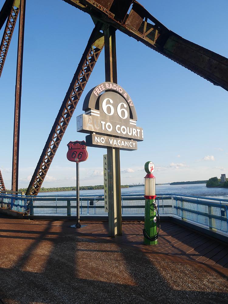 Chain of Rocks Bridge. Photo by Tom Varner.