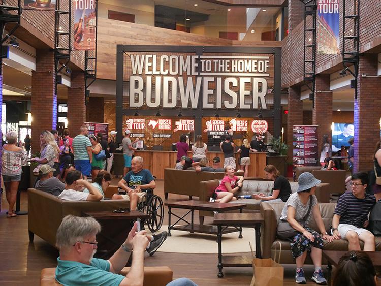 Anheuser-Busch Brewery. Photo Tom Varner.