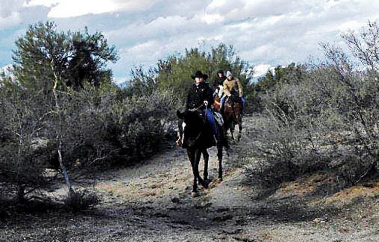 The Trail Ride is a Highlight at Cowboy College. Photo by Victor Block