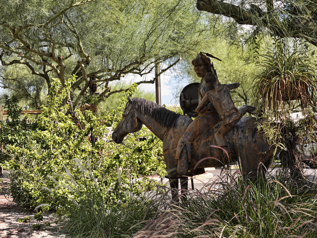 Some Streets in Scottsdale, Arizona serve as Outdoor Art Museums. Photo by Brenda Kean/Dreamstime.com