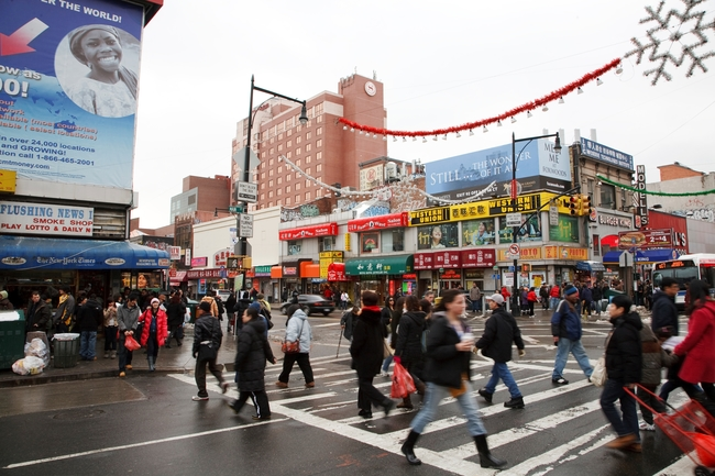 "Queens, New York is the most diverse ""melting pot"" in the world. Photo by Greater Flushing Chamber of Commerce"