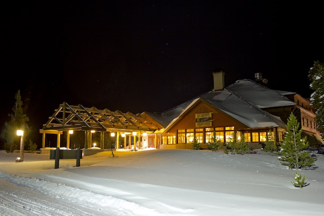Old Faithful Snow Lodge. Photo courtesy of Yellowstone National Park Lodges