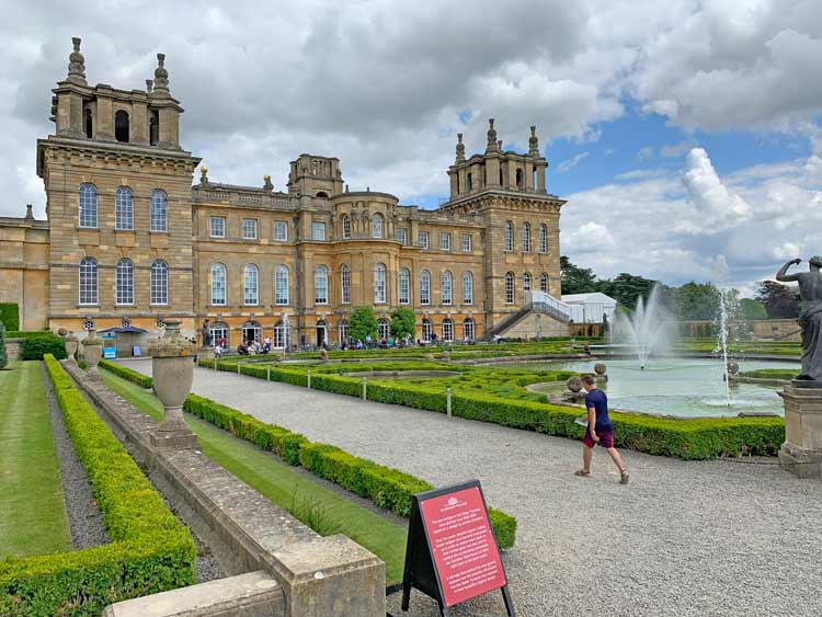 Blenheim Palace. Photo by Janna Graber