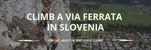 Climb a via ferrata in Slovenia