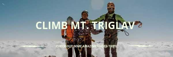 Hire a guide to climb Mt. Triglav in Slovenia
