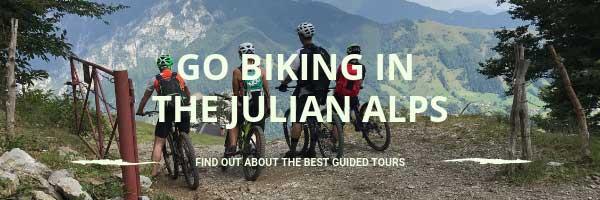 Go biking in the Julian Alps