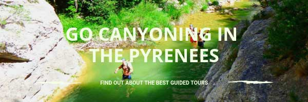 Go canyoning in the Pyranees