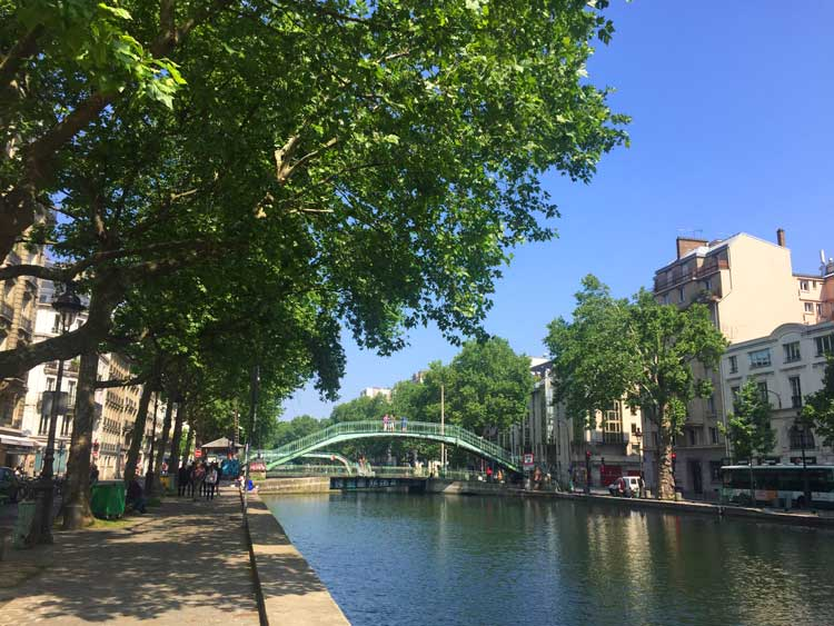 Commissioned in 1802 by Napoleon Bonaparte to create a new supply route into Paris, the Canal Saint-Martin now marks a new center of Paris