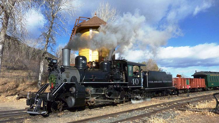 Colorado Railroad Museum heading west. Photo by Rich Grant.