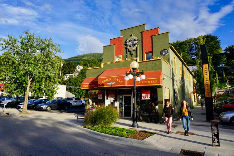 Shops in Nelson, British Columbia