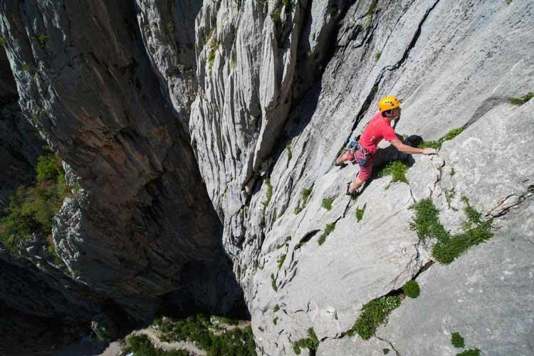Rock climbing Paklenica ©Klemen Gricar
