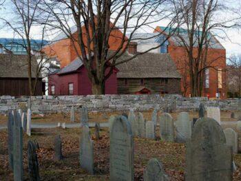 Halloween in Salem Massachusetts