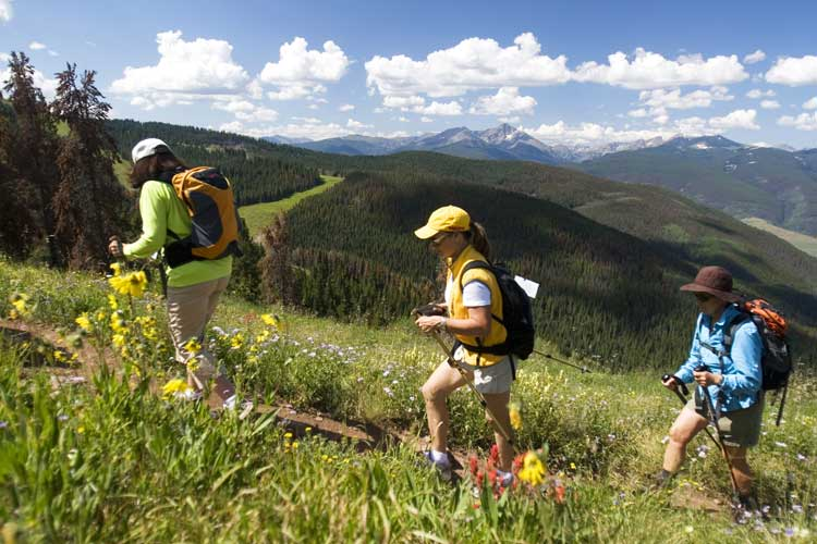 Hiking is a popular activity in Colorado. Photo by Matt Inden/Miles