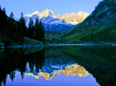 Maroon Bells are one of the top natural attractions in Colorado. Photo by Matt Inden/Miles