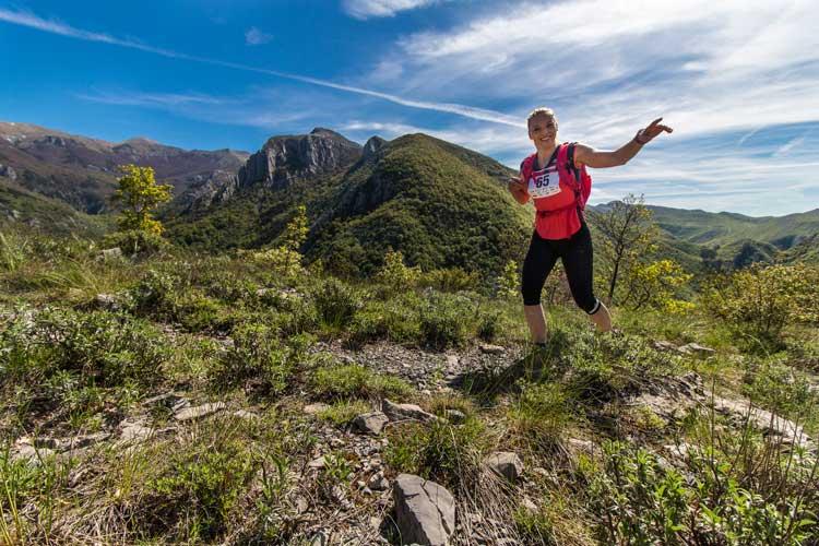 Trail running in Paklenica ©Danijela Bucić