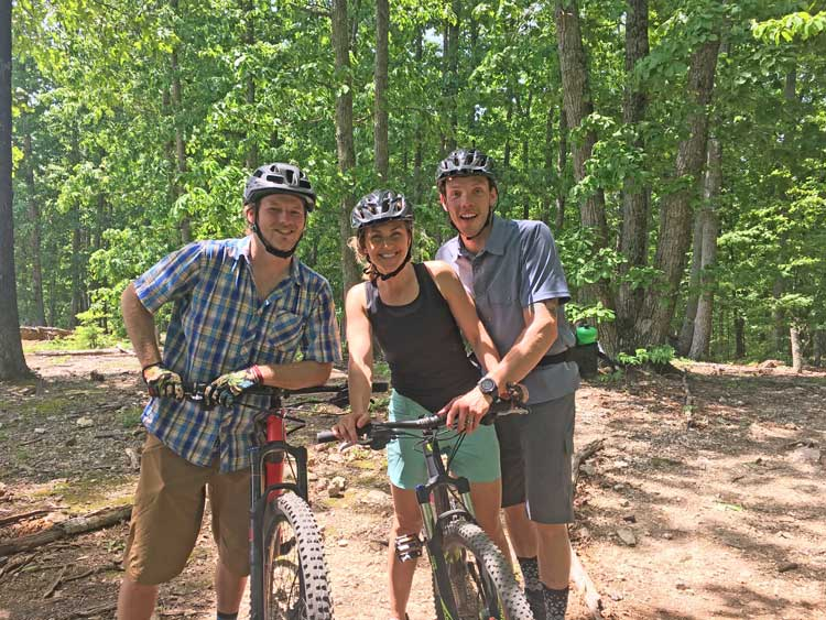 Mountain biking in Chattanooga
